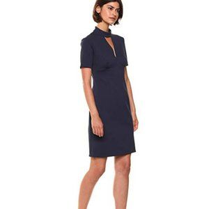 NWT Trina Trina Turk Camari Choker Neck Dress